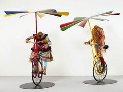 Boy and Girl on Flying Machine1