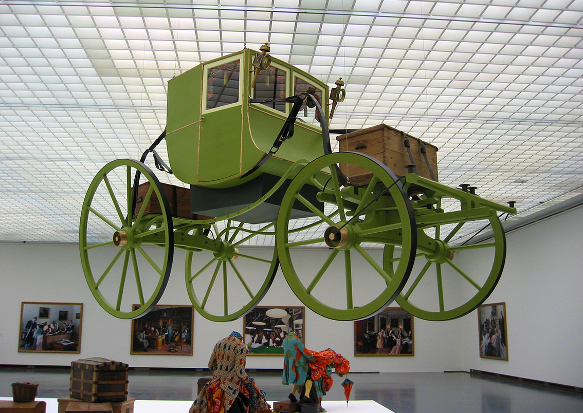 Grand Tour carriage