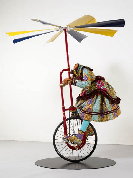Girl on Flying Machine