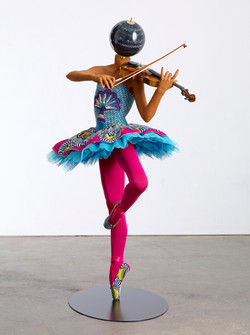 Ballerina with Violin (Giselle)
