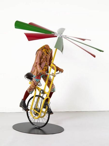 Boy on Flying Machine