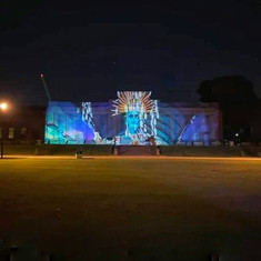 Projection by Steve Pool