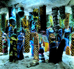 Stalagmite, stalactite