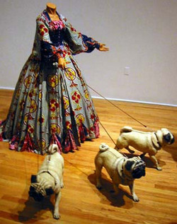 leisurelady with pugs