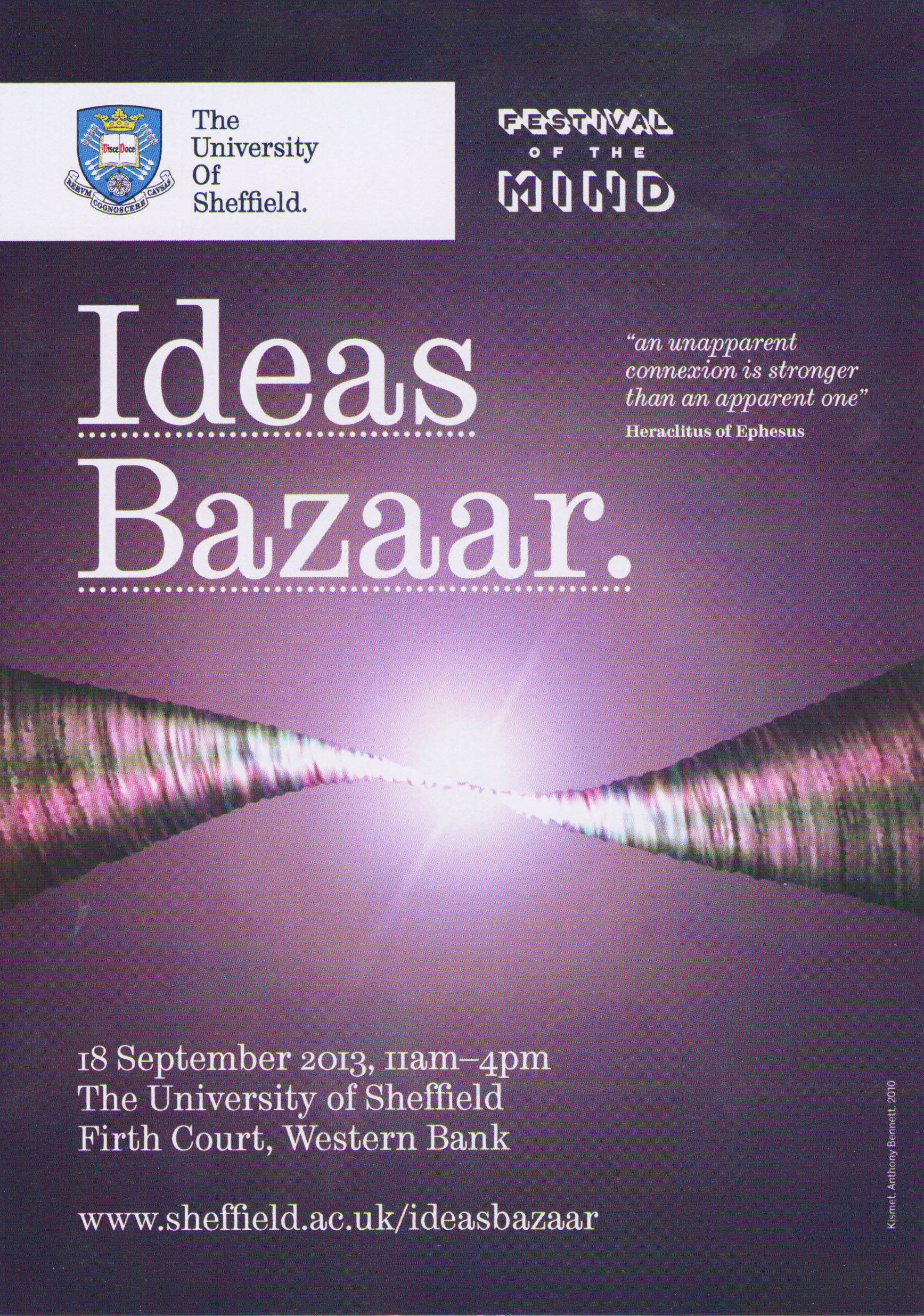 Ideas Bazaar 2013 leaflet