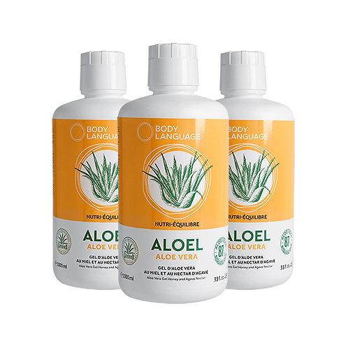Solution Aloel Plus - 3 Bouteilles