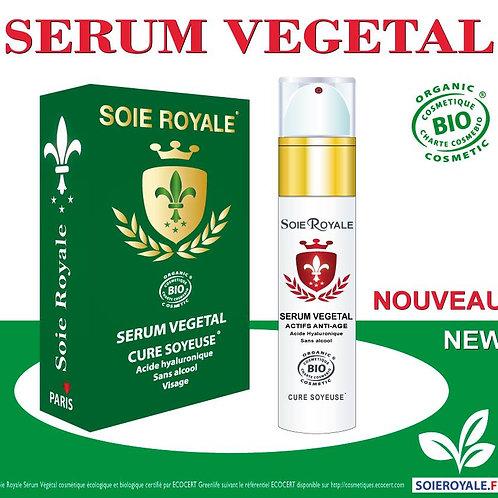 Sérum Végétal Bio Soie Royale Anti-âge 50 ml
