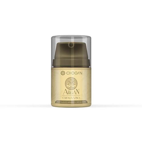 Crème bio pour le visage à l'huile d'argan et à l'acide hyaluronique 50 mlAR10