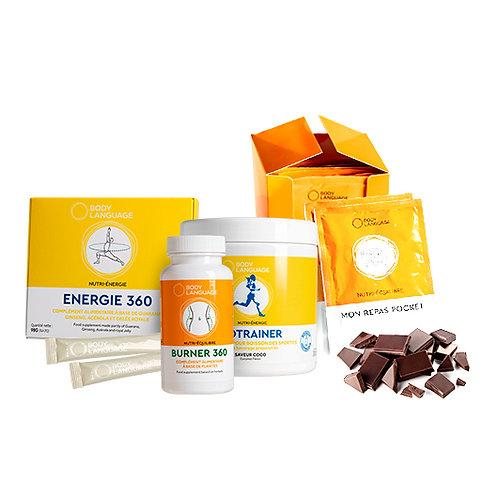 Solution Body Boost Chocolat