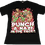 Thumbnail: Punch a Nazi in the face Redux on Unisex Black Tee