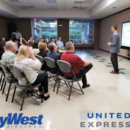 MEET & GREET - United Express Service operated by SkyWest Airlines