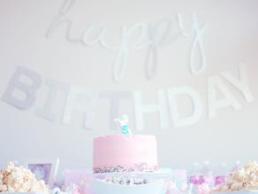 Lexi's 5th Unicorn Birthday Party