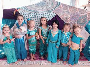 Zoey's 5th Aladdin Birthday Party