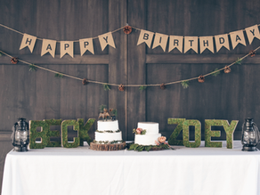 Zoey's 3rd Woodland Birthday Party