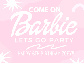 Zoey's 6th Barbie Birthday Party