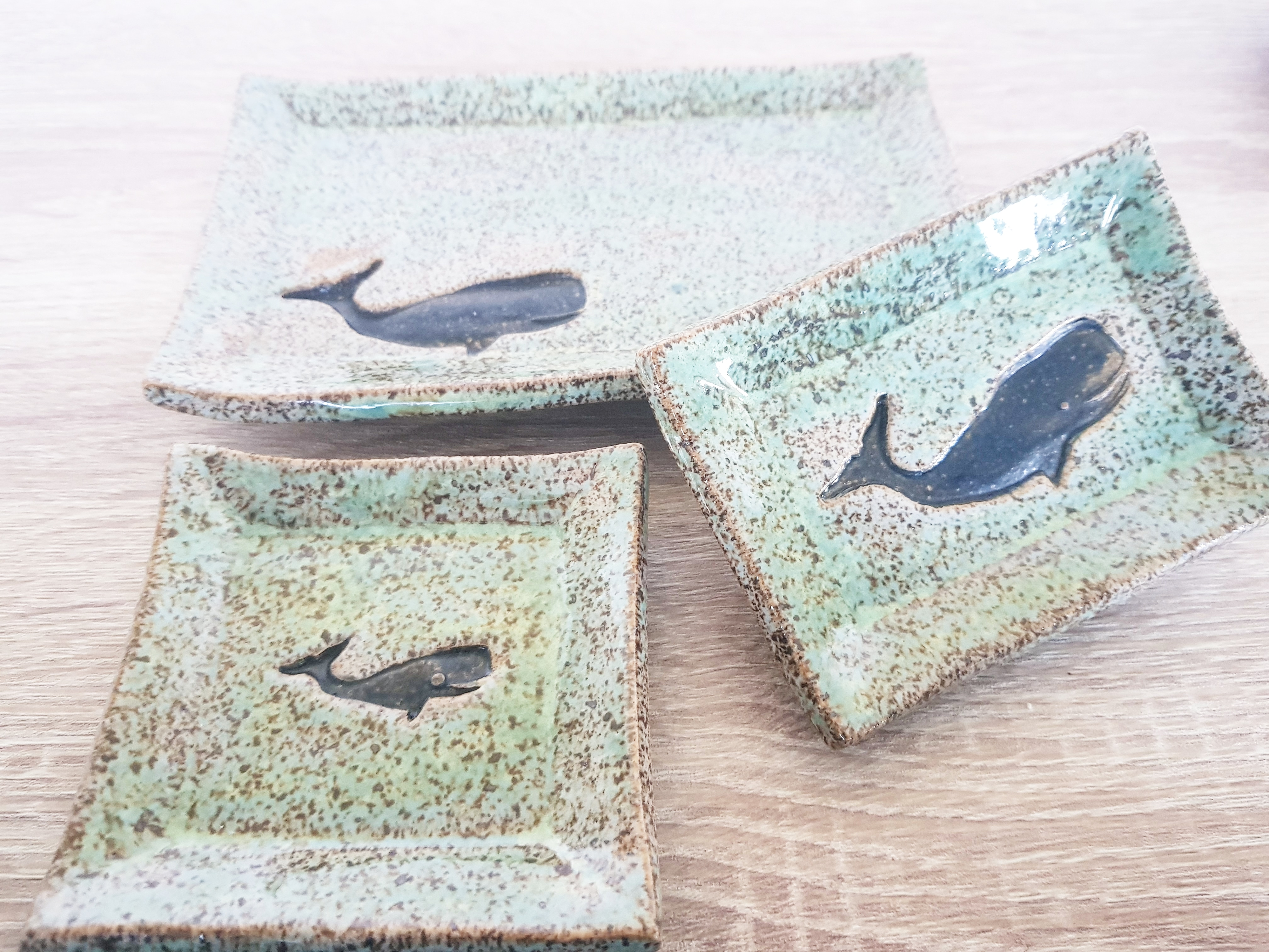 whale dishes