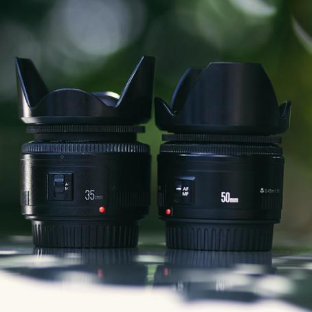 Een 35mm of een 50mm lens, welke is beter?