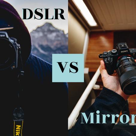DSLR vs Mirrorles Camera: Welke past best bij jou?