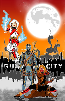 Guardian City Team Poster