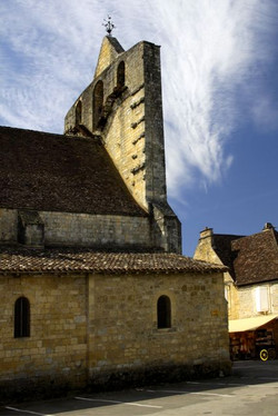 Domme Cathedral, France.
