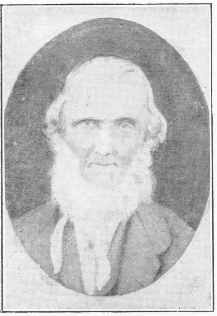 Thomas Hartley (in his very old age)
