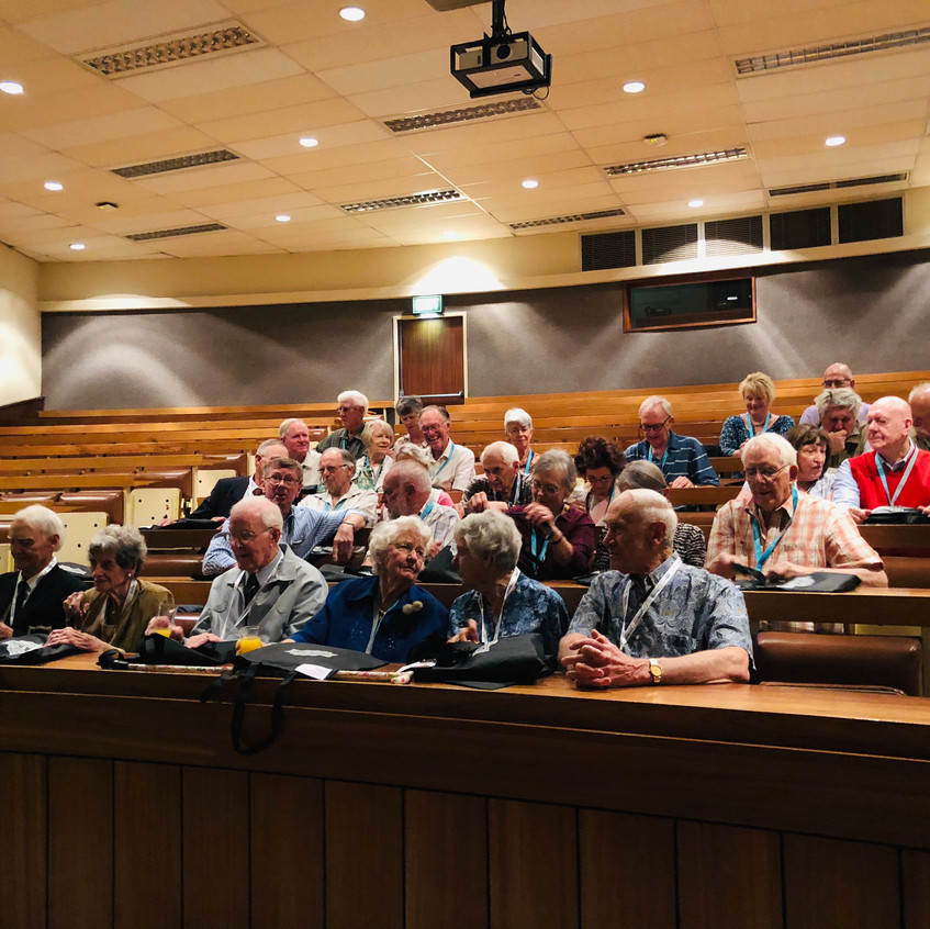 The Old faculty auditorium