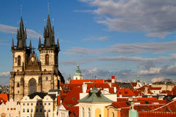 Gothic Steeples, Prague.