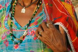 Rajasthani colours.