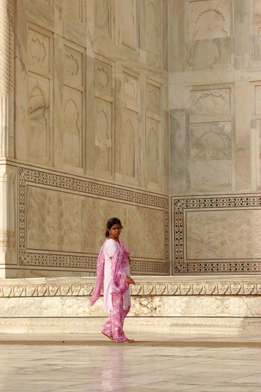 Taj Mahal in Pink.