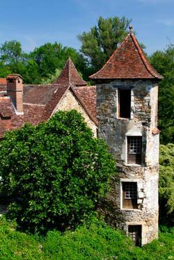 Medieval Tower, Carennac, France.