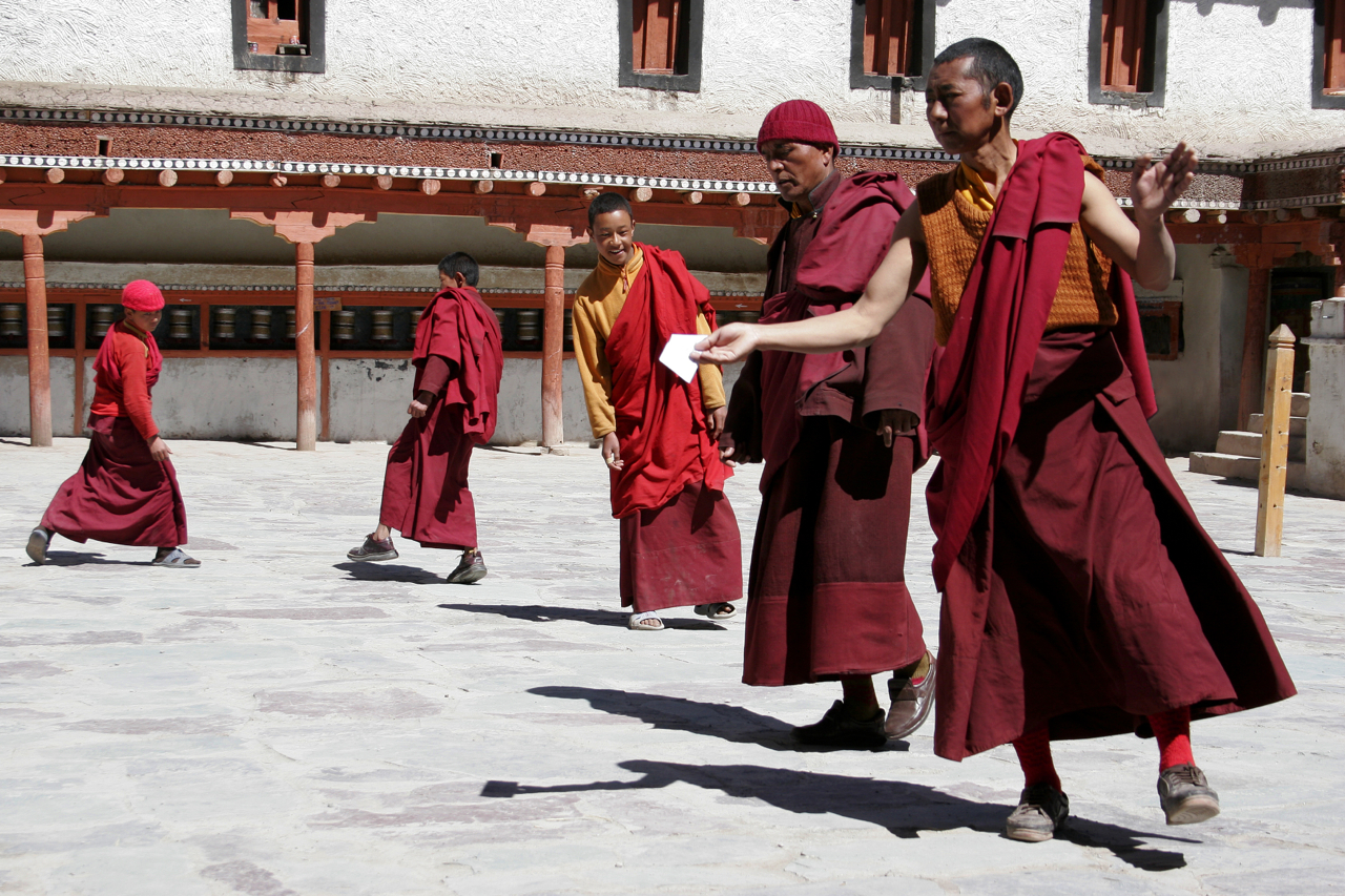 Hemis Monestery, Dancing Monks.