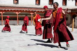 Hemis Monestery, Dancing Monks.
