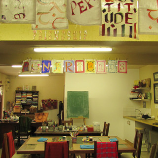 One of my creative spaces