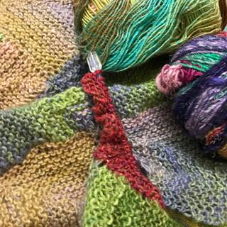 Funky knitting