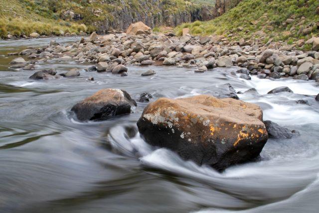 River Bolders, Lesotho.