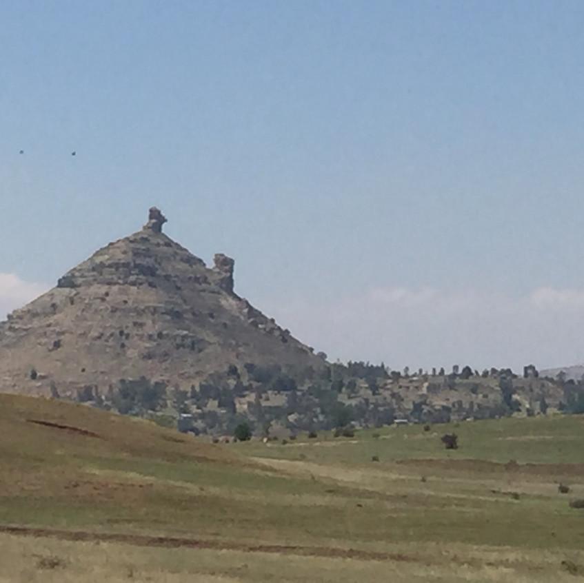 Lesotho 'hat' kopje