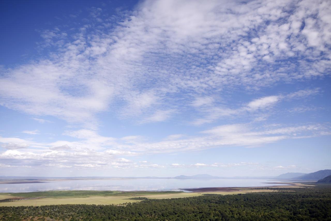 Lake Manyara Skyscape.