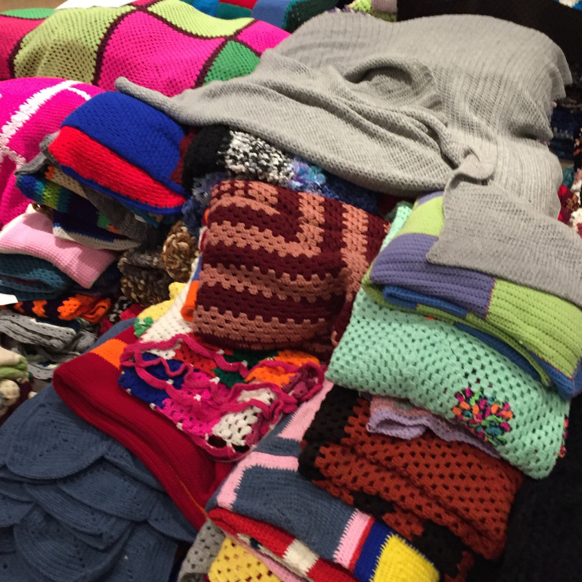 MANY scarves