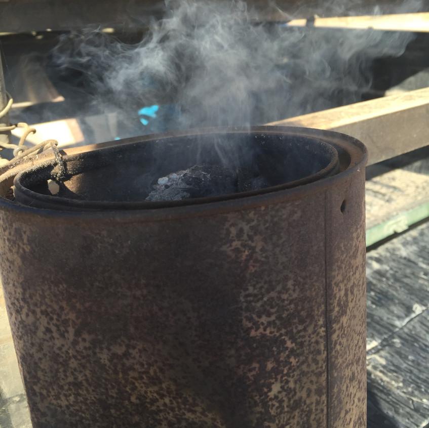 Talk about smoking pot