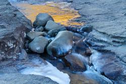 Icy Rocks.