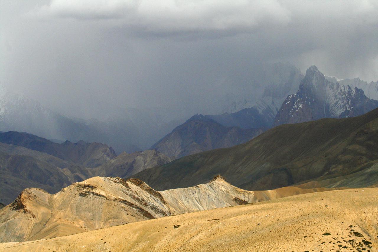 Himalayan Snow Storm, Kargil.