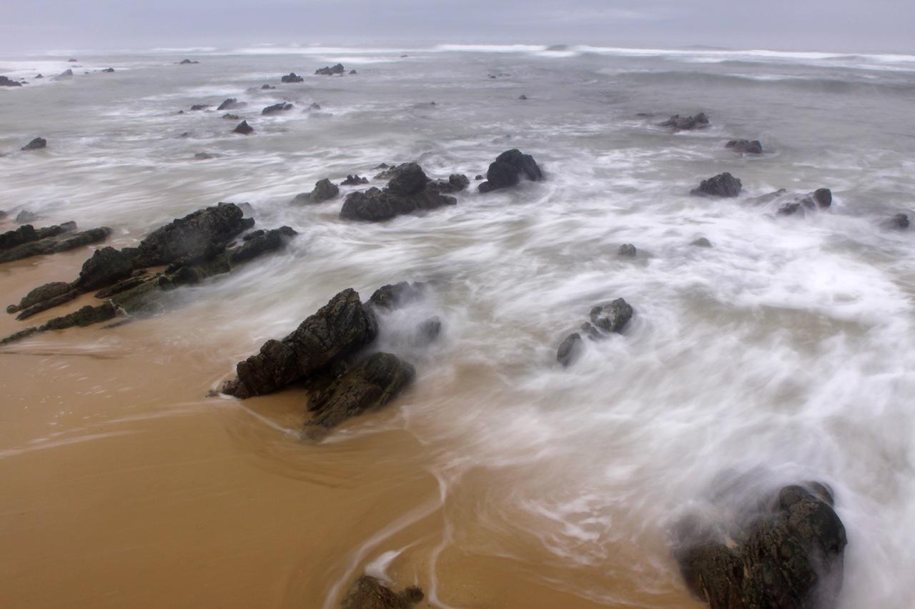 Receeding Tide.