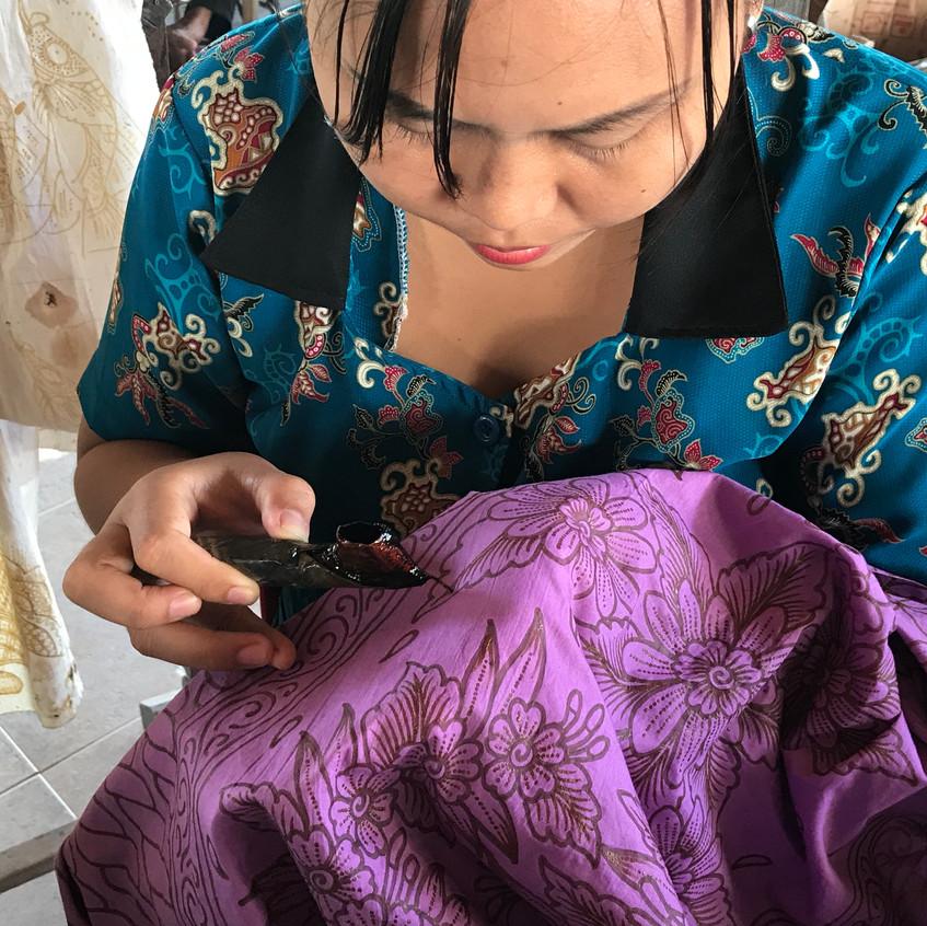 Batik preparation