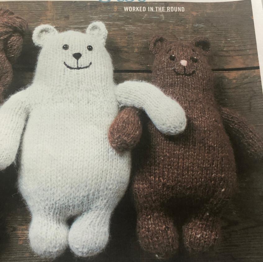 Otso bear - free pattern