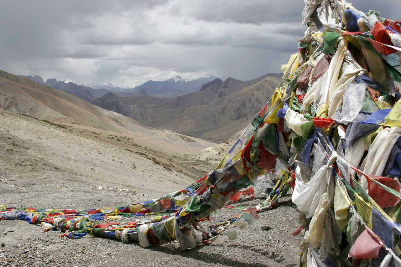 Tibetan Prayer Flags, Ladhak.