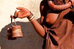 Himba boxes, Namibia.