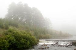 Misty River Weir.