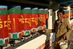 Tibetan Prayer Wheels, Dharamshala.