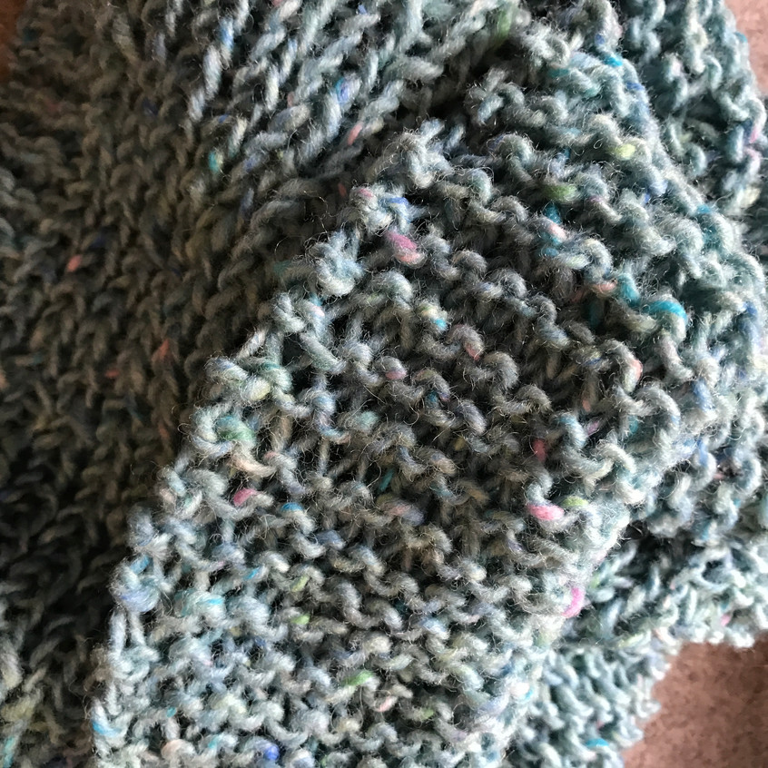 Yarn from Ireland - scarf for E