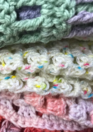 FAB shawls from Arlene's group of special ladies